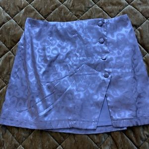 Forever 21 silk mini skirt